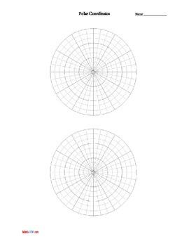 Graph paper - Polar Coordinates