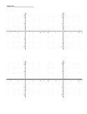 Graph paper -- Simple 4 graph graph paper