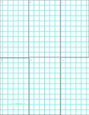 Graph paper with sections