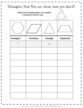 4th Grade Math: Graphing: Graph that Pattern