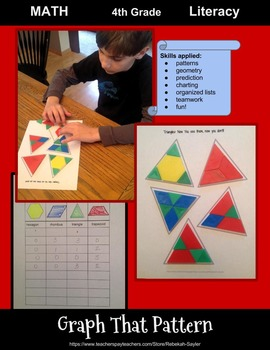 Fun Math Worksheets: Patterns and Graphing