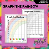 Graph the Rainbow (St. Patrick's Day, Nutrition, Weather)