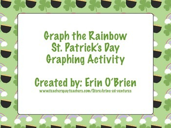 Graph the Rainbow: St. Patrick's Day Graphing Activity