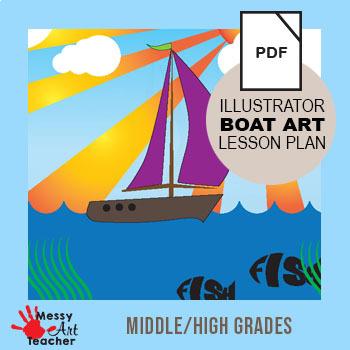Graphic Design Adobe Illustrator Cc Boat Illustration For Middle High School,Modern Commercial Office Design Ideas