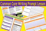 Graphic Design Writing Prompt Lesson - Using color to persuade
