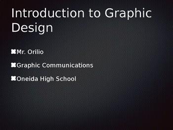 Graphic Design Intro