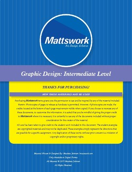 Graphic Design Level 2: Rack Cards