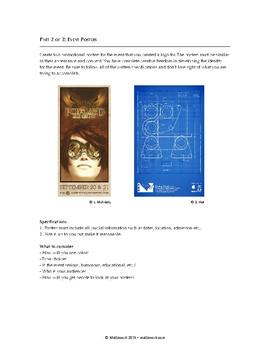 Graphic Design Level 3: Event Logo & Poster