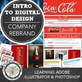 Graphic Design, Media Tech, Intro to Design Project: Compa