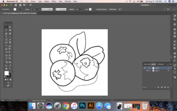 Graphic Design - Pen Tool Practice