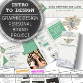 Graphic Design, Personal Branding Project with Adobe Illus