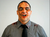 Graphic Design Zombie Photoshop Project with Lesson Plan &