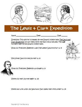Graphic History: Lewis and Clark Expedition Activity and Answer Key