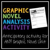 Graphic Novel Anticipatory Activity: Style & Genre Study