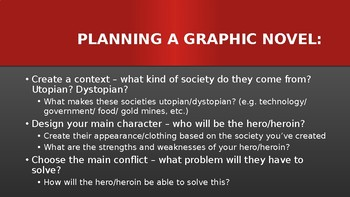 Graphic Novel Black Panther All-In-One Lesson PowerPoint