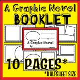 Graphic Novel [Template], Graphic Organizer - Reading, Grammar, Writing