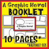 Graphic Novel Booklet- w/ Story Summary page and blank lay