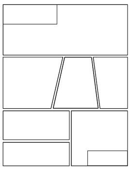 Free} Graphic Novel (Comic Book) Templates by Mr Mosley's Creations