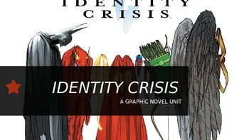 Graphic Novel Identity Crisis All-In-One Lesson PowerPoint