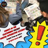 Graphic Novel: Digital Interactive Google Slide SAMPLE fro