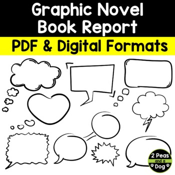 Graphic Novel Book Report By 2Peasandadog | Teachers Pay Teachers