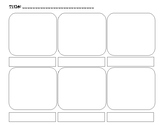 Graphic Novel Storyboard Template