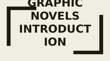 Graphic Novel Studies The Outside Circle All-In-One Lesson PowerPoint