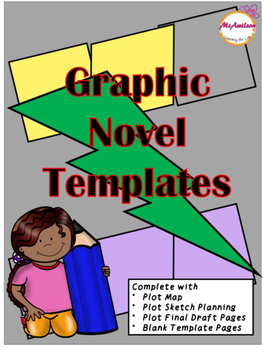 graphic novel templates by ms a wilson literacy for life tpt