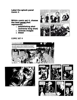 Graphic Novel Terms Test
