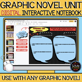 Graphic Novel Unit: DIGITAL Interactive Notebook (for any