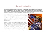 Graphic Novel Unit Supplement - Our Comic Book Society