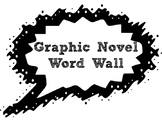 Graphic Novel Word Wall Starter Kit