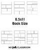 Graphic Novel and Comic Templates (full page and square sizes)