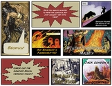 Graphic Novel signs (the classics)