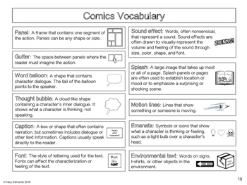 Graphic Novels Are Elementary! Activities & Student Pages