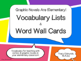Graphic Novels Are Elementary! Vocabulary Pack