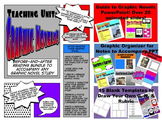 Graphic Novels Before and After Reading Teaching Activity Bundle