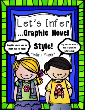 """Graphic Novels Inferencing """"Mini-Pack"""""""