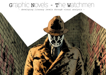 Graphic Novels Full Term Planner - The Watchmen