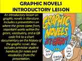 Graphic Novels Introduction Lesson