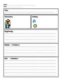 Graphic  Organizer 1Rl3 Character, Setting, Plot