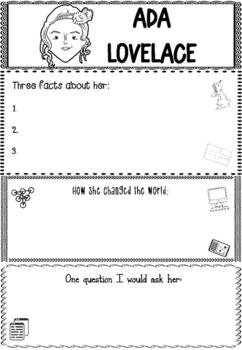 Graphic Organizer : Ada Lovelace