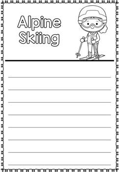 Graphic Organizer: Alpine Skiing : Winter Olympics 2018, Winter Sports
