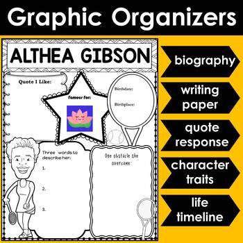 Graphic Organizer : Althea Gibson