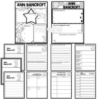 Graphic Organizer : Ann Bancroft