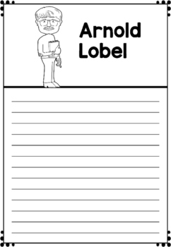 Graphic Organizer : Arnold Lobel : Awesome Authors