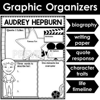 Graphic Organizer : Audrey Hepburn
