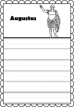 Graphic Organizer : Augustus, Ancient Rome