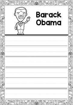 Graphic Organizer : Barack Obama