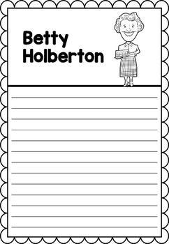 Graphic Organizer : Betty Holberton